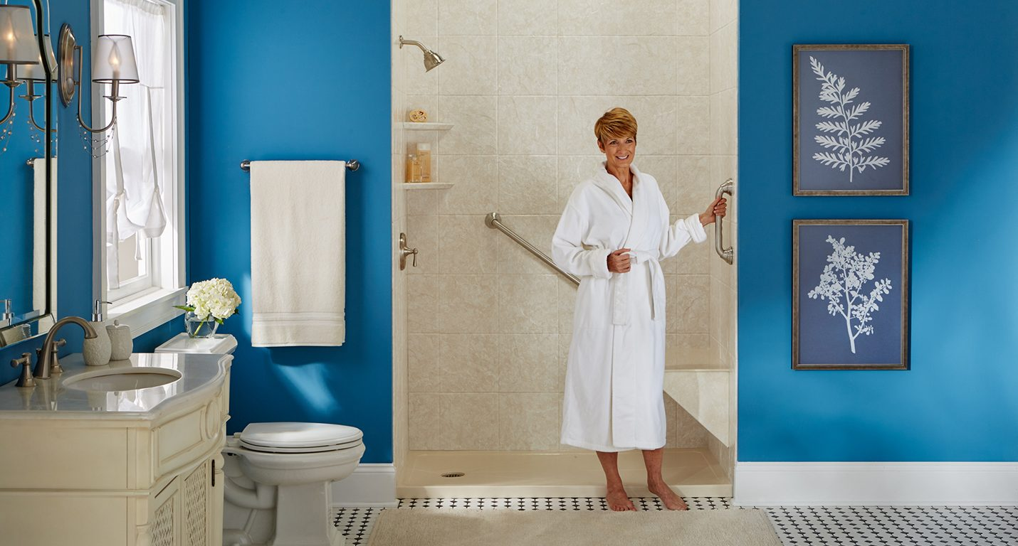 Easy Entry No Threshold Showers | BathWraps