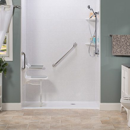 shop related rooms bathrooms products bath bathroom pictures trend nkba design threshold no shower hgtv showers
