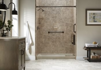 How to Stop Water Splashing in a Walk-in Shower